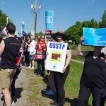 抗議示威削減教育不斷