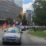 勞動節車隊遊行-多倫多工會奮起爭取公正復甦
