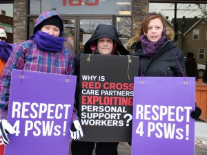 PSW workers