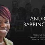 勞工議會新主席Andria就職演辭